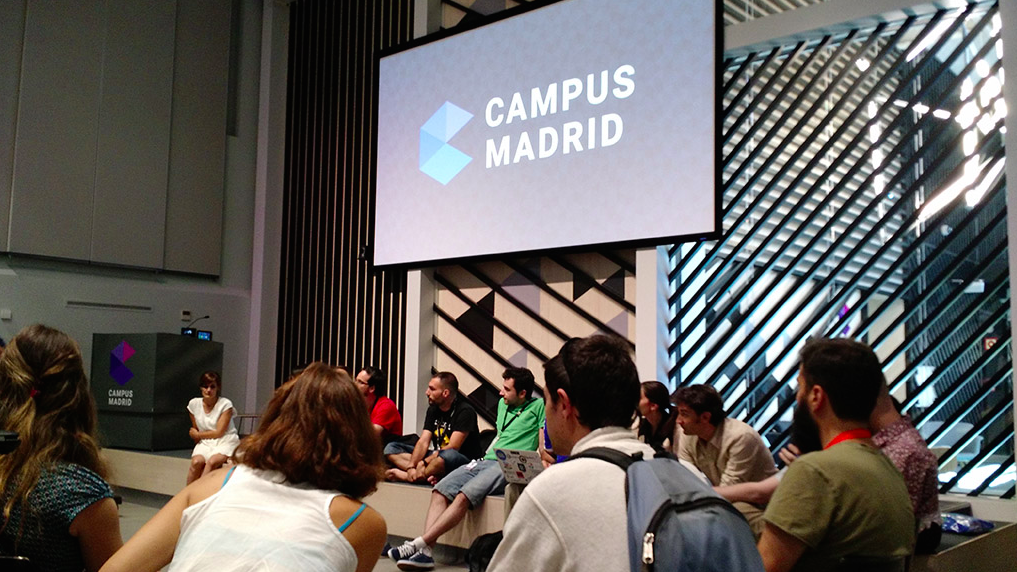 7pa7 en la Google Launchpad Week de Campus Madrid
